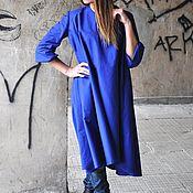 handmade. Livemaster - original item Demi-season Women`s Dress, Loose Kaftan Dress-DR0077GB. Handmade.