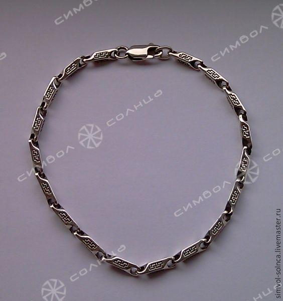 Bracelet Perun (4 mm), Folk decorations, Sochi,  Фото №1