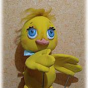 Кукольный театр ручной работы. Ярмарка Мастеров - ручная работа Кукольный театр.Тростевая кукла Цыпленок. Handmade.