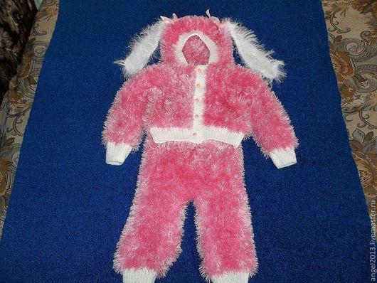 """Костюмы ручной работы. Ярмарка Мастеров - ручная работа. Купить Костюмчик для девочки """"Моя зайка"""". Handmade. Розовый, для девочки"""