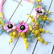 Работы для детей, handmade. Livemaster - original item Jewelry set for girls