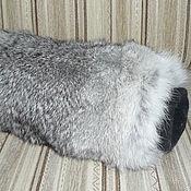 Аксессуары ручной работы. Ярмарка Мастеров - ручная работа Муфта из меха кролика. Handmade.