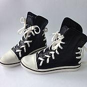 Обувь ручной работы. Ярмарка Мастеров - ручная работа Кеды из кожи. Handmade.