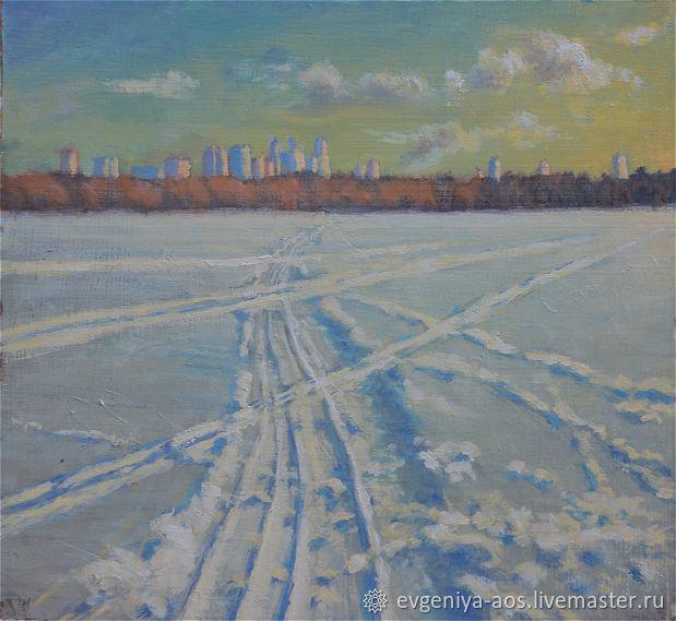 Лыжня, Картины, Москва,  Фото №1