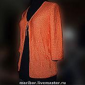 """Одежда ручной работы. Ярмарка Мастеров - ручная работа Жакет """"Пламя"""" Авторская работа.. Handmade."""