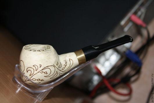Подарочные наборы ручной работы. Ярмарка Мастеров - ручная работа. Купить сувенирные курительные трубки. Handmade. Рог оленя
