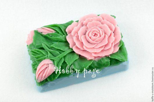 Материалы для косметики ручной работы. Ярмарка Мастеров - ручная работа. Купить Силиконовая форма для мыла Роза кустовая. Handmade.