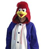 Субкультуры handmade. Livemaster - original item Woody Woodpecker Kigurumi - Custom Handmade - Anti-pill Fleece Pyjamas. Handmade.