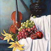 Картина маслом Натюрморт со скрипкой
