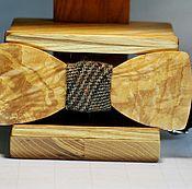 Аксессуары handmade. Livemaster - original item Bow tie made of wood. Handmade.