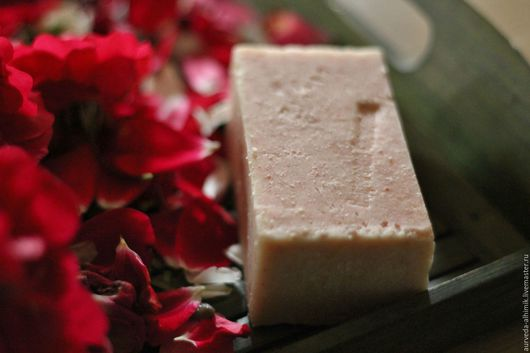 Мыло ручной работы. Ярмарка Мастеров - ручная работа. Купить Розовое мыло трофейное. Handmade. Роза, мыло с розой