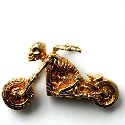 """Миниатюра ручной работы. Ярмарка Мастеров - ручная работа. Купить Фигурка """"Призрачный гонщик"""". Handmade. Мотоцикл, ангел-хранитель, для водителей"""