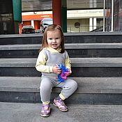 """Одежда ручной работы. Ярмарка Мастеров - ручная работа Детский костюм"""" Активная осень"""". Handmade."""