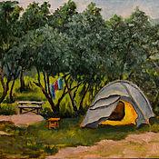 """Картины и панно ручной работы. Ярмарка Мастеров - ручная работа """" Летний отдых"""". Handmade."""