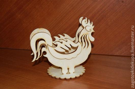 Салфетница `Петушок` (продается в разобранном виде) Размер: 14х13х9 см Материал: фанера 3 мм