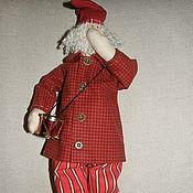 Куклы и игрушки ручной работы. Ярмарка Мастеров - ручная работа Санта с барабаном. Handmade.