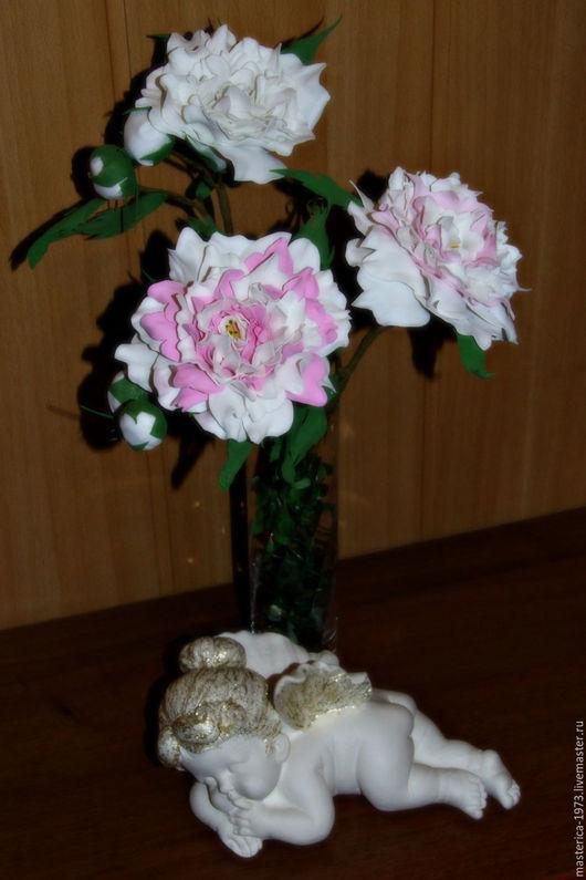 Букеты ручной работы. Ярмарка Мастеров - ручная работа. Купить флористика,Цветы,букеты.. Handmade. Бледно-розовый, зеленый