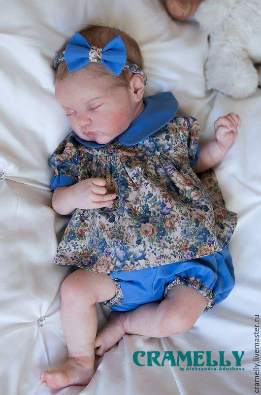 Куклы-младенцы и reborn ручной работы. Ярмарка Мастеров - ручная работа. Купить Ленточка (Evangelina от LLE). Handmade. Реборн, мохер