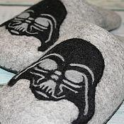 Обувь ручной работы. Ярмарка Мастеров - ручная работа Тапочки StarWars. Handmade.