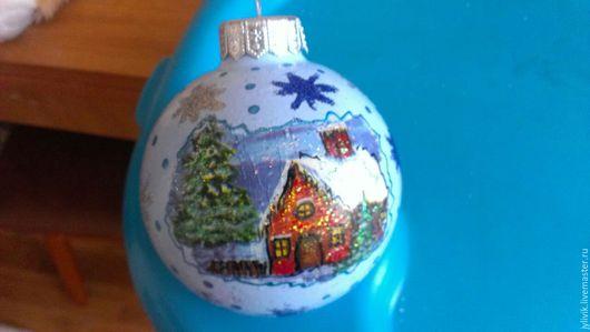 Персональные подарки ручной работы. Ярмарка Мастеров - ручная работа. Купить Новогодние шары. Handmade. Новогодние шары, подарки, сувениры