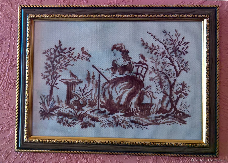 Вышивальщица, Картины, Кронштадт,  Фото №1