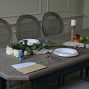 Для дома и интерьера handmade. Livemaster - original item 572.1 Table oak sliding. Handmade.