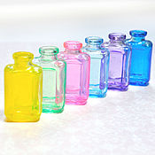 Куклы и игрушки ручной работы. Ярмарка Мастеров - ручная работа Цветные бутылочки. Handmade.
