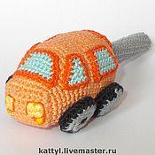 """Куклы и игрушки ручной работы. Ярмарка Мастеров - ручная работа Погремушка """"Машинка"""". Handmade."""