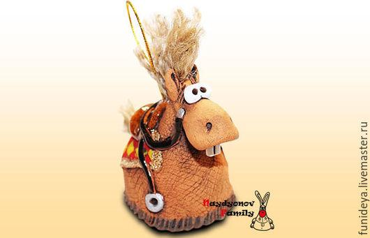 Колокольчики ручной работы. Ярмарка Мастеров - ручная работа. Купить Лошадь  комплектация ЛЮКС. Лошадь колокольчик. Лошадь из глины.. Handmade.