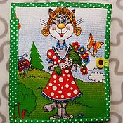 Куклы и игрушки handmade. Livemaster - original item In stock!!! educational book. Handmade.