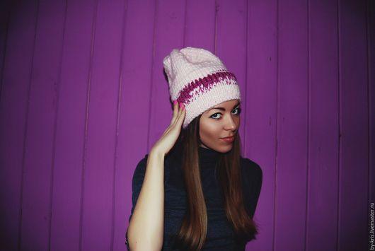 Шапки ручной работы. Ярмарка Мастеров - ручная работа. Купить вязаная шапка, шапка женская, зимняя шапка. Handmade.