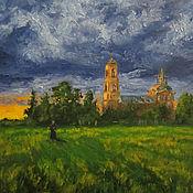 Картины и панно handmade. Livemaster - original item Oil landscape