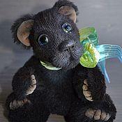 Куклы и игрушки ручной работы. Ярмарка Мастеров - ручная работа медвежонок Баги. Handmade.