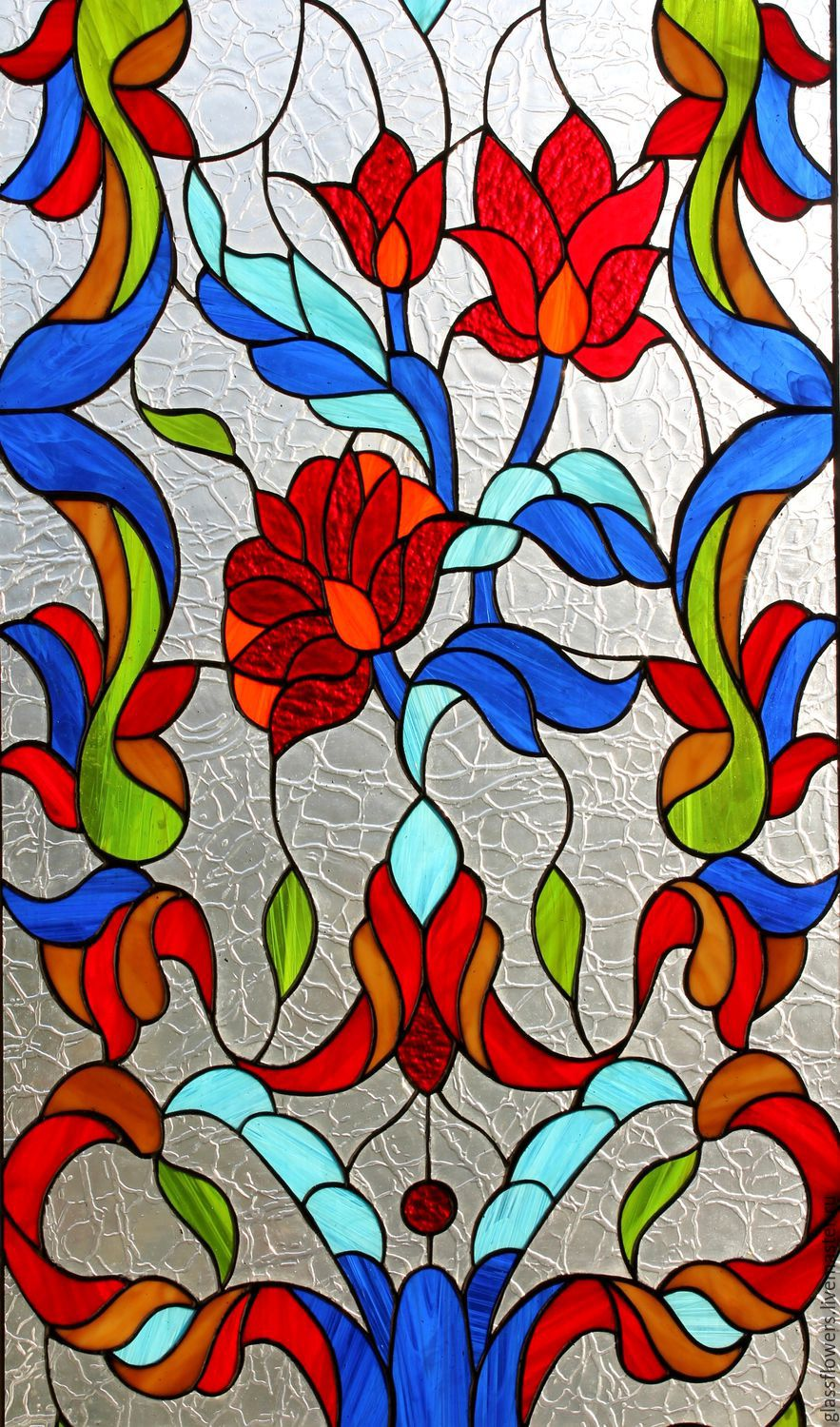 Interior Items handmade. Livemaster - handmade. Buy The garden of Eden. Stained Glass Tiffany.Stained glass
