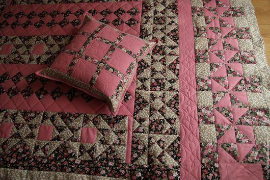 Пледы и одеяла ручной работы. Ярмарка Мастеров - ручная работа. Купить Девочкино одеяло. Handmade. Розовый, подарок для девочки