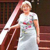 """Одежда ручной работы. Ярмарка Мастеров - ручная работа Валяное платье """" Даяна"""". Handmade."""