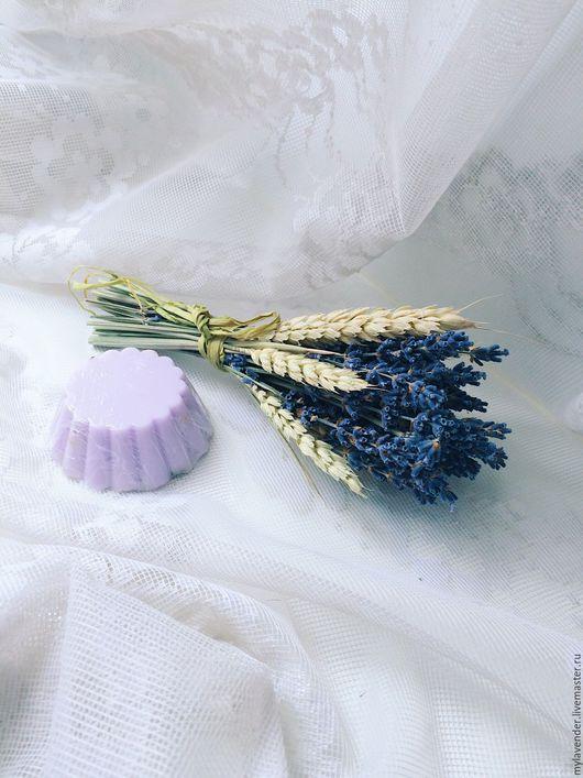 Букеты ручной работы. Ярмарка Мастеров - ручная работа. Купить Букет лаванды с сухоцветами (маленький). Handmade. Лаванда, пшеница, фаларис
