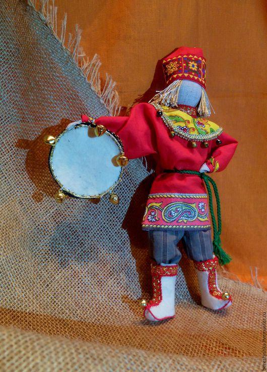 Народные куклы ручной работы. Ярмарка Мастеров - ручная работа. Купить Скоморох авторская кукла. Handmade. Скоморох, Праздник, войлок
