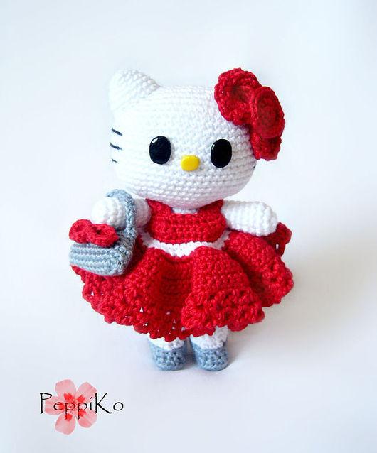 Миниатюра ручной работы. Ярмарка Мастеров - ручная работа. Купить Hello Kitty - красотка. Handmade. Хелло Китти, Hello Kitty