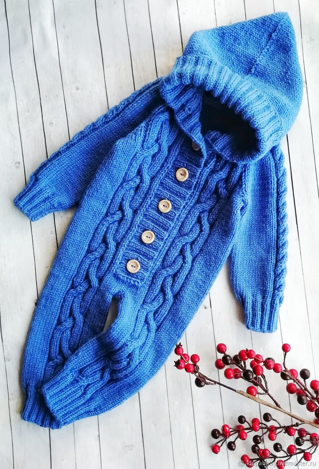 Knitted Romper for baby, Overall for children, St. Petersburg,  Фото №1