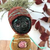 """Куклы и игрушки ручной работы. Ярмарка Мастеров - ручная работа войлочная игрушка """"Малютка Кодама"""". Handmade."""