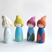 """Куклы и игрушки ручной работы. Ярмарка Мастеров - ручная работа Гномы """"Времена года"""". Handmade."""