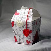 Сувениры и подарки ручной работы. Ярмарка Мастеров - ручная работа Коробка подарочная Love. Handmade.