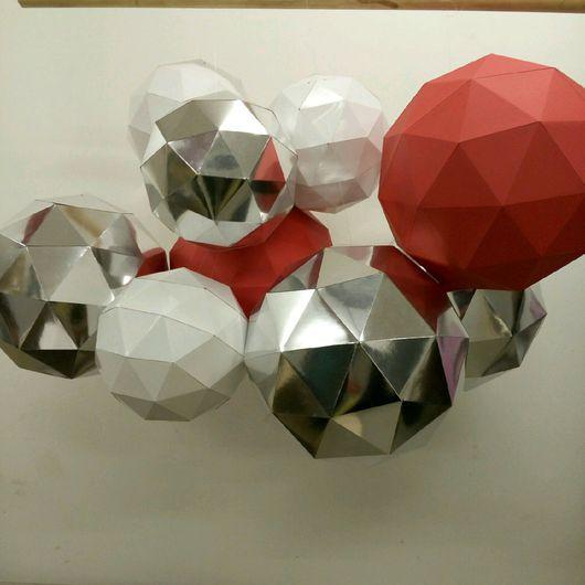 Декор поверхностей ручной работы. Ярмарка Мастеров - ручная работа. Купить Геометрия. Handmade. Комбинированный, Декор
