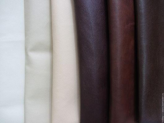6 цветов: молочно-белый, слоновая кость, бежевый, бордово-коричневый, рыже-коричневый, темно-коричневый