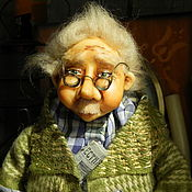 Для дома и интерьера handmade. Livemaster - original item House statuette, guardian doll. Handmade.