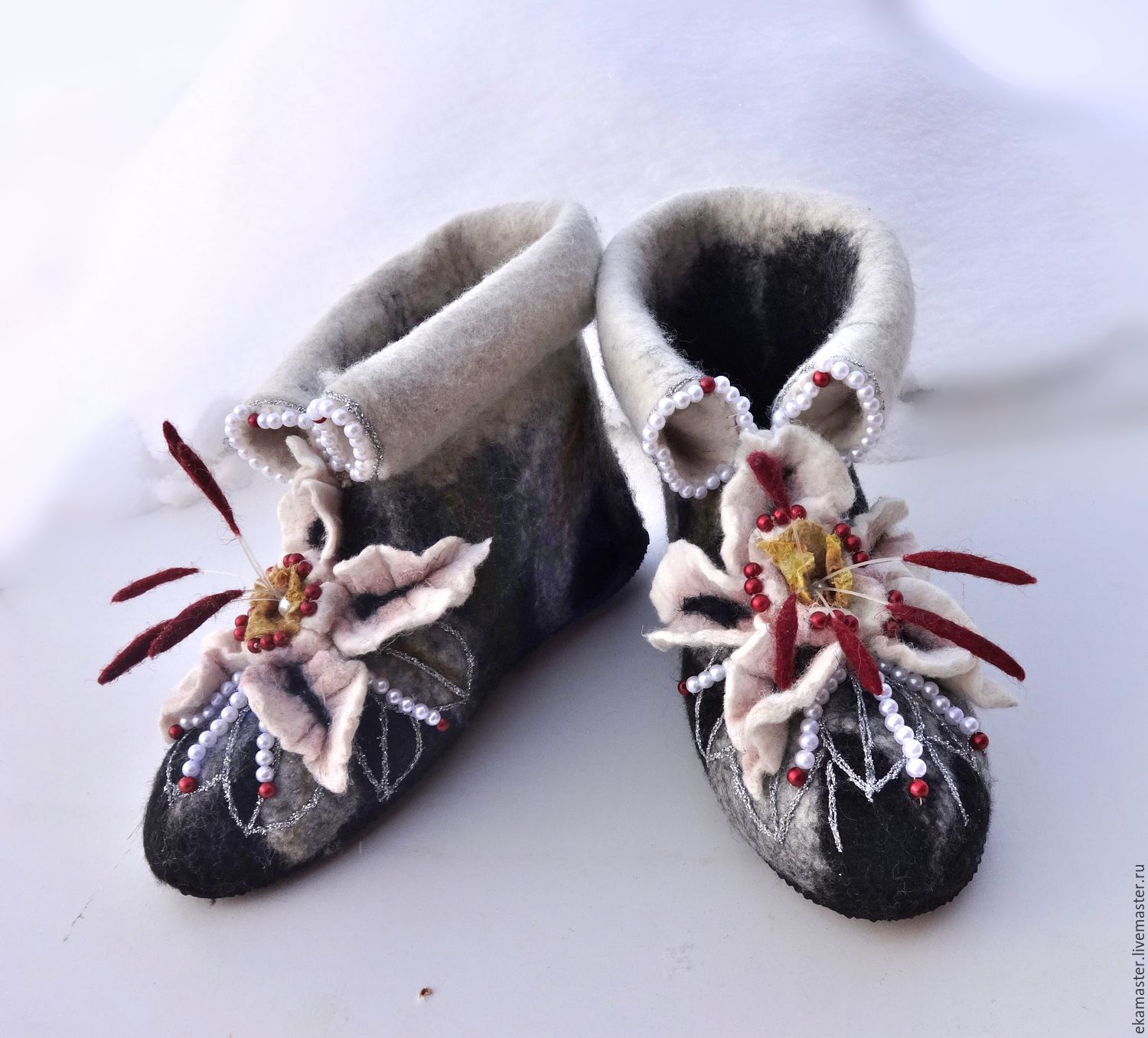 Boots for the house 'Mom's favorite', Slippers, Ekaterinburg,  Фото №1