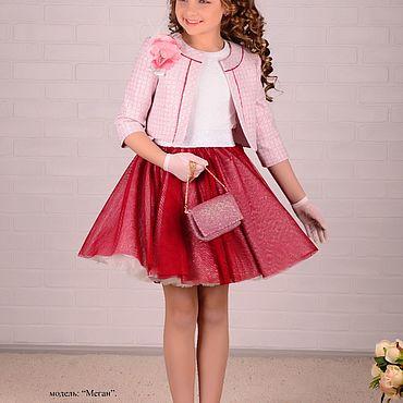 Одежда ручной работы. Ярмарка Мастеров - ручная работа Нарядный комплект для девочки. Handmade.