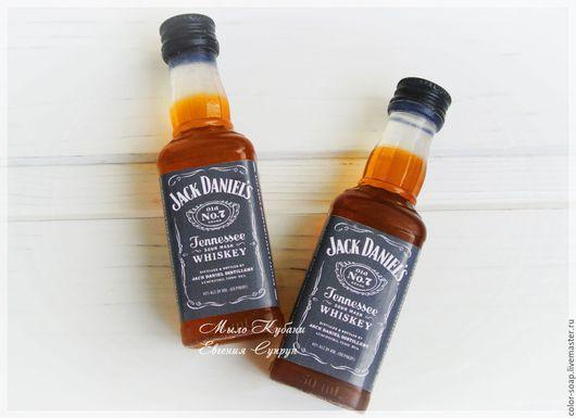 """Мыло ручной работы. Ярмарка Мастеров - ручная работа. Купить Мыло """"Виски Jack Daniel s"""" подарок мужчине, парню, коллеге. Handmade."""