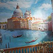 Картины и панно ручной работы. Ярмарка Мастеров - ручная работа Венеция! восторг воды. Handmade.